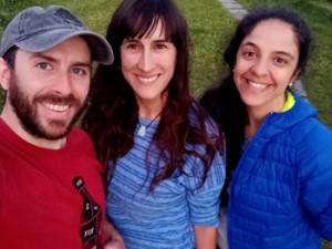Roxana de los Ángeles, Leticia Larrechart e Ignacio «Nacho» Toso