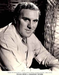 William Bendix. Foto promocional de Paramount