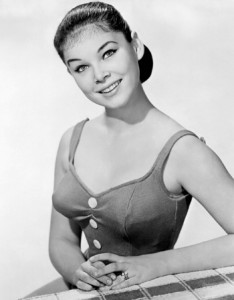 Yvonne Craig, The young land, 1959.