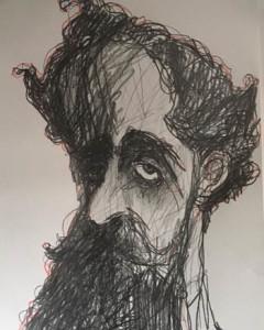 CONTRATAPA. Varela, caricatura de Arotxa