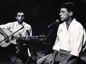 Junto a Gilberto Gil.