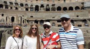 Alejandro y familia