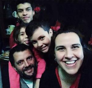 Buslón y su familia