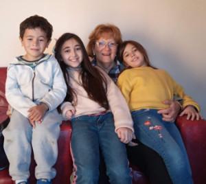 MArgot y sus nietos