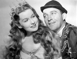 Con Bing Crosby en A Connecticut Yankee in King Arthur's Court, 1949