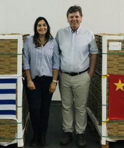 Natalia Baldassari y Adolfo Storni (Gentileza Actualidad Agropecuaria)