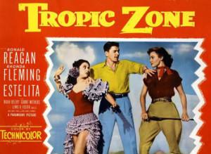Tropic Zone, 1953,  con Ronald Reagan